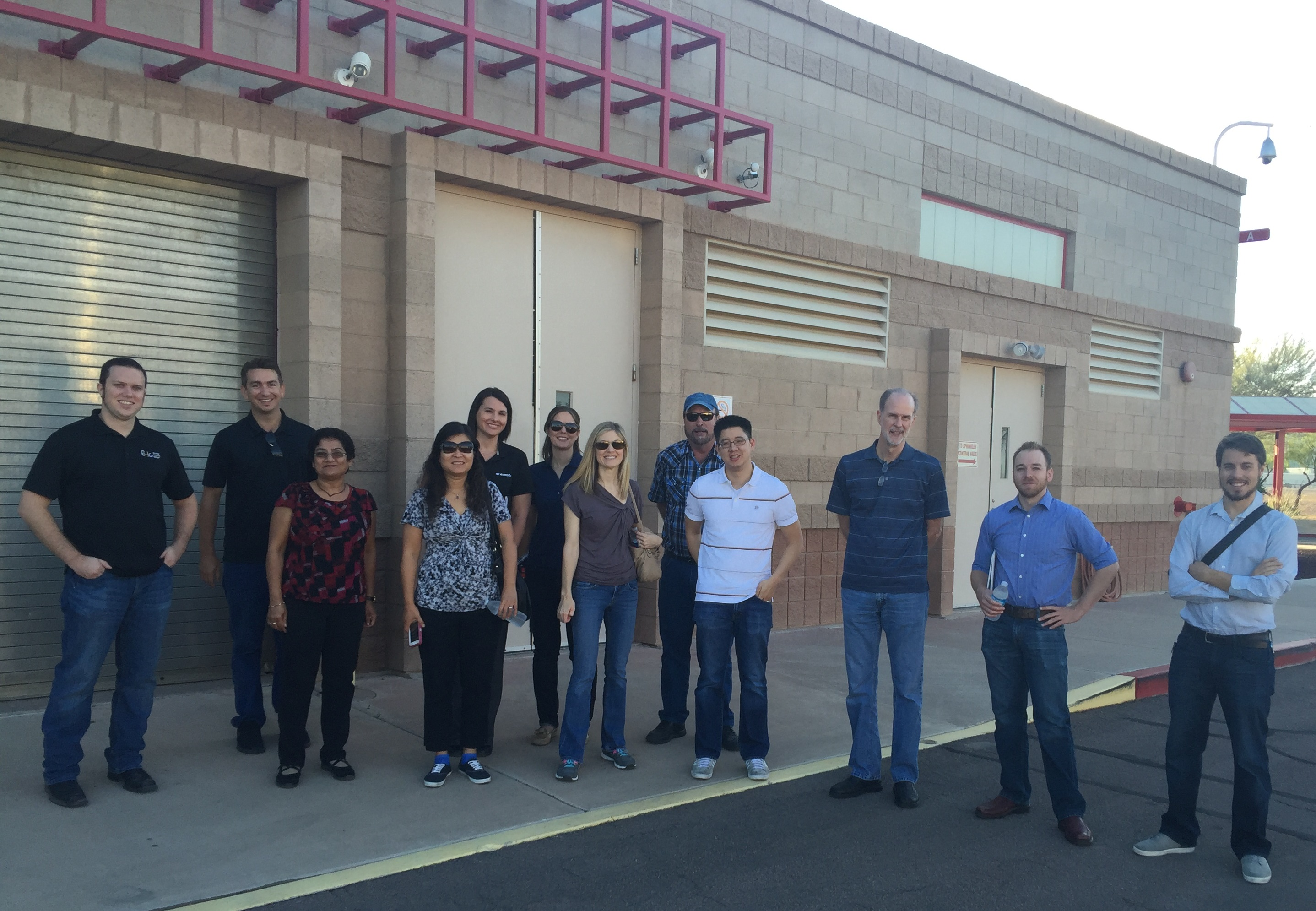 October 2015 Breakfast Meeting – Ocotillo Brine Reduction Facility Tour